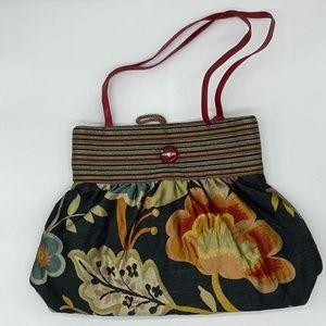 NWOT Dorit Collection Floral Small Handbag
